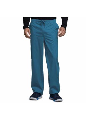 Muške hlače na vezanje širokih nogavica - 1022-CARV