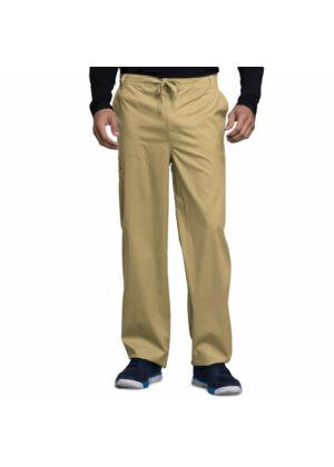 Muške hlače na vezanje širokih nogavica - 1022-KAKV