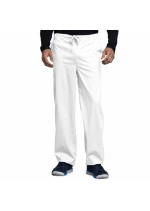 Muške hlače na vezanje širokih nogavica - 1022-WHTV