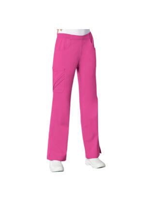 Vrećaste hlače srednje visokog struka - 1067-ROSV