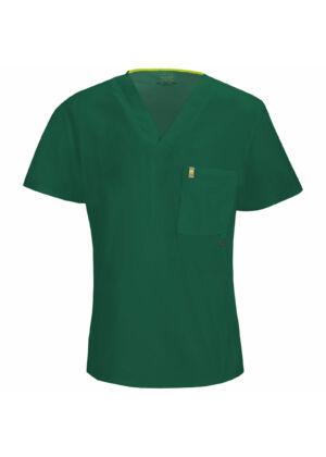 Muška majica s V-izrezom - 16600A-HNCH