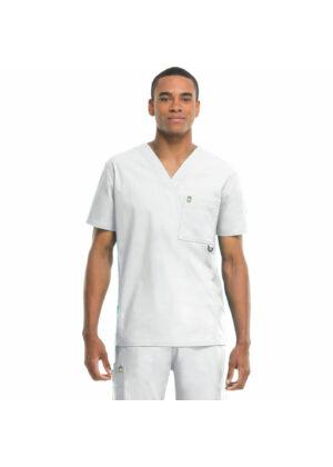 Muška majica s V-izrezom - 16600A-WHCH