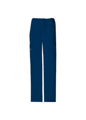Unisex Cargo hlače s vezicom - 4043-NAVW