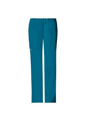 Vrećaste hlače srednje visokog struka na vezanje - 4044-CARW