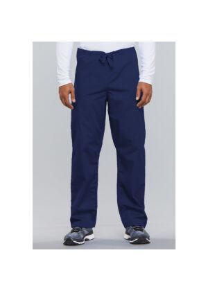 Unisex vrećaste hlače na vezanje - 4100-NAVW