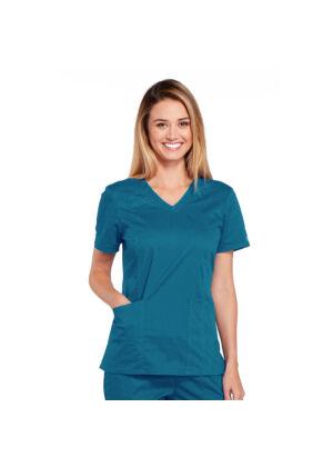 Majica s V-izrezom - 4710-CARW