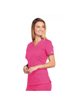 Majica s V-izrezom - 4710-SHPW