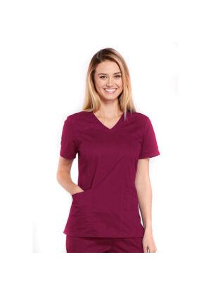 Majica s V-izrezom - 4710-WINW