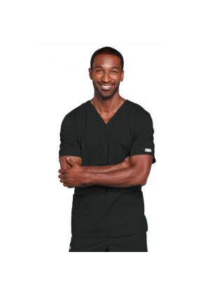 Unisex majica s V-izrezom - 4725-BLKW