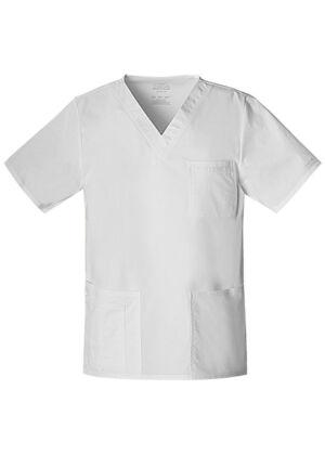 Unisex majica s V-izrezom - 4725-WHTW