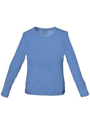 Pletena majica dugih rukava - 4818-CIEW