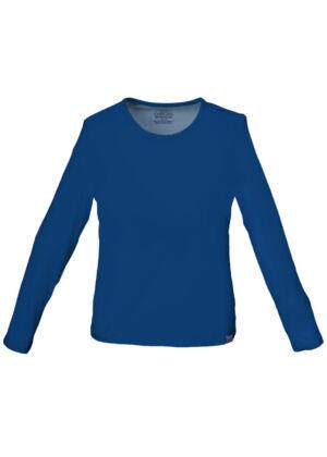 Pletena majica dugih rukava - 4818-NAVW
