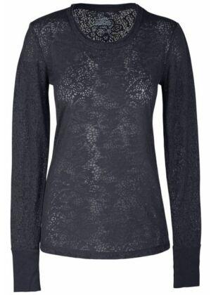 Pletena majica dugih rukava - 4823-PWTW