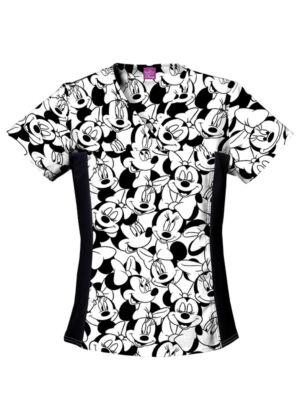 Majica s V-izrezom - 6875C-MKBM