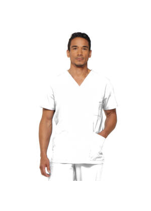 Muška majica s V-izrezom - 81906-WHWZ