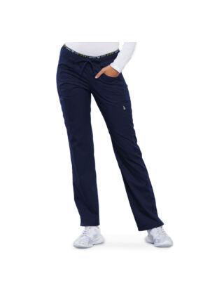 Hlače srednje visokog struka ravnih nogavica - CK003-NAVV