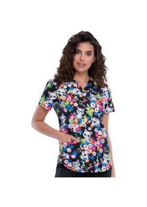 Majica s V-izrezom - CK652-STCU