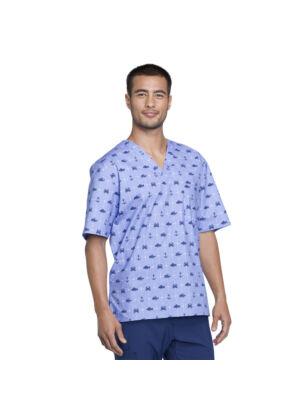 Muška majica s V-izrezom - CK675-ANWY