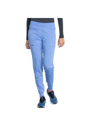 Mid Rise Jogger Pant in Ciel Blue
