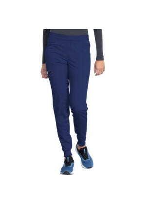 Mid Rise Jogger Pant in Navy