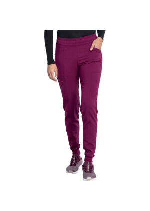 Mid Rise Jogger Pant in Wine