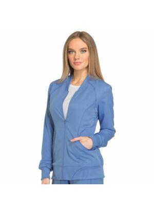 Dickies ženska bluza dugih rukava sa zatvaračem plava - DK330-CIE