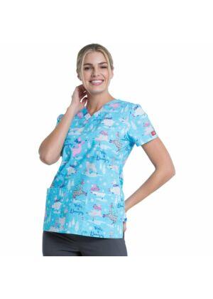 Dickies ženska bluza sa uzorcima - DK704-WILL
