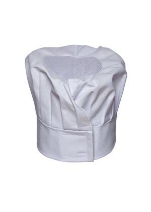 Karlowsky KM16 Uniszex Chef Sapka - Fehér