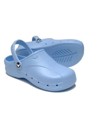 SUECOS Skoll Clogs - Light Blue