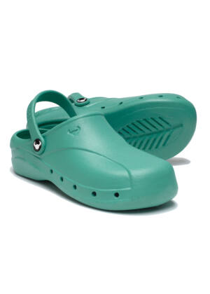 SUECOS Skoll Clogs - Light Green