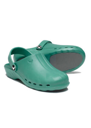 SUECOS Oden Clogs - Green