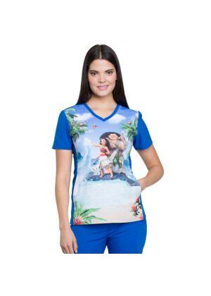 """Majica s V izrezom """"Maui and Moana"""" - TF627-MHMM"""