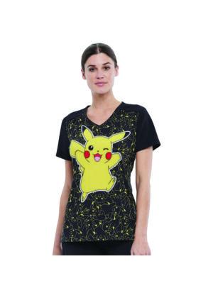 Tooniforms TF639-PMPZ Női Felső Pikachu
