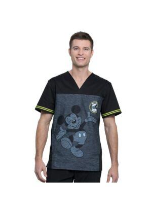 Muška majica s V-izrezom - TF707-MKBY