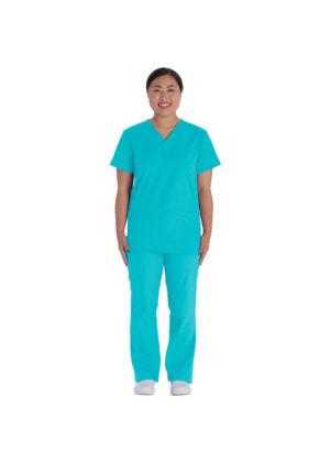 Cherokee unisex set: hlače+bluza siva - VT526C-TRQW