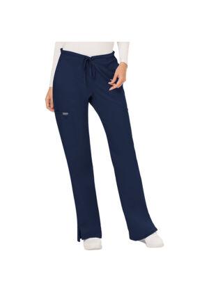 Srednje visoke hlače s vezicom - WW120-NAV