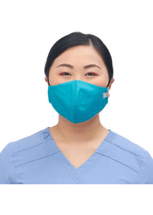 Višekratna periva maska za lice, turkiz, M/L, 1kom