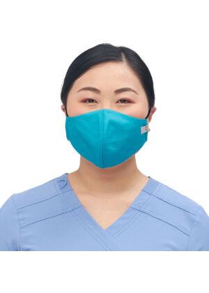 Višekratna periva maska za lice, turkiz, S/M, 1kom