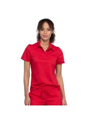 Polo majica na kopčanje, crvena - WW698-RED