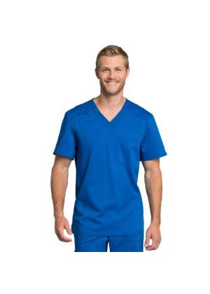 Muška majica s V-izrezom - WW755AB-ROY