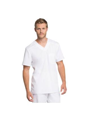 Muška majica s V-izrezom - WW755AB-WHT