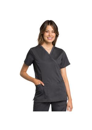Majica s preklopljenim V-izrezom