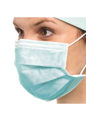Egyszer használatos higiéniai, sebészeti szájmaszk