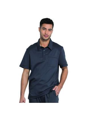 Muška Polo majica, siva-crna - WW615-PWT
