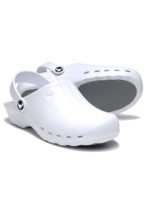 SUECOS Oden Clogs - White