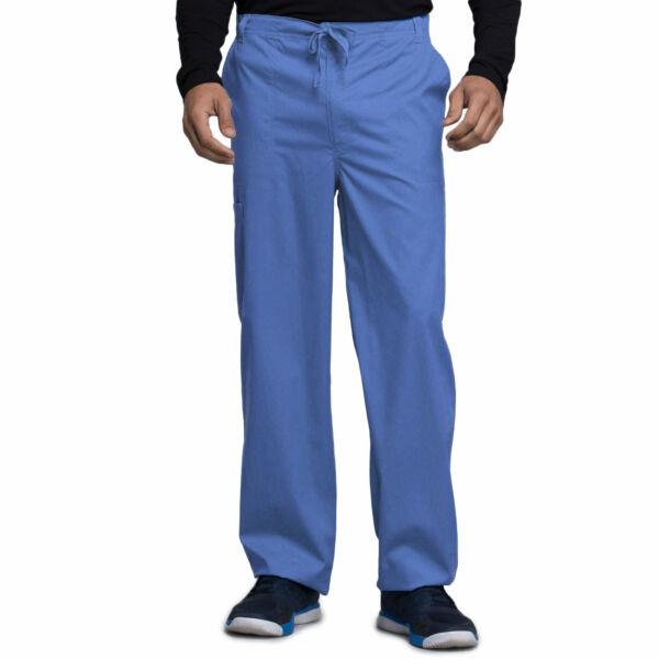 Muške hlače na vezanje širokih nogavica - 1022-CELV