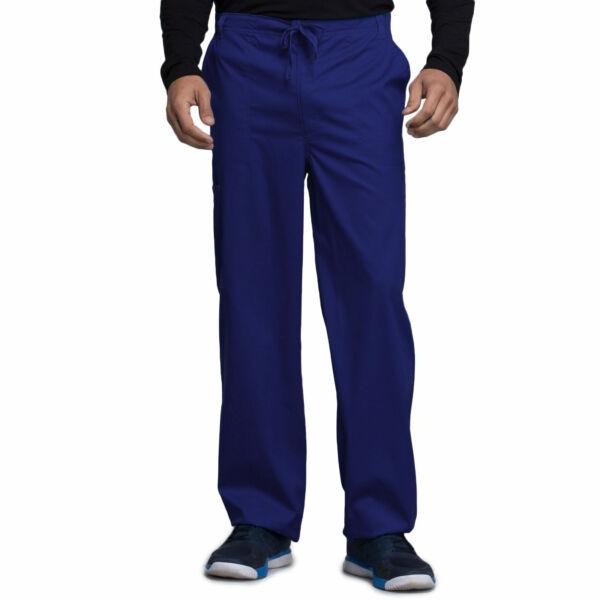 Muške hlače na vezanje širokih nogavica - 1022-NAVV