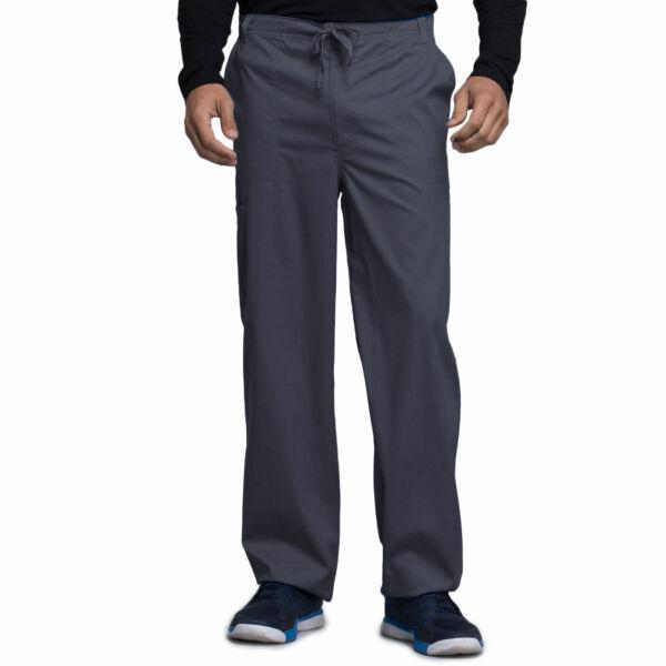 Muške hlače na vezanje širokih nogavica - 1022-PEWV