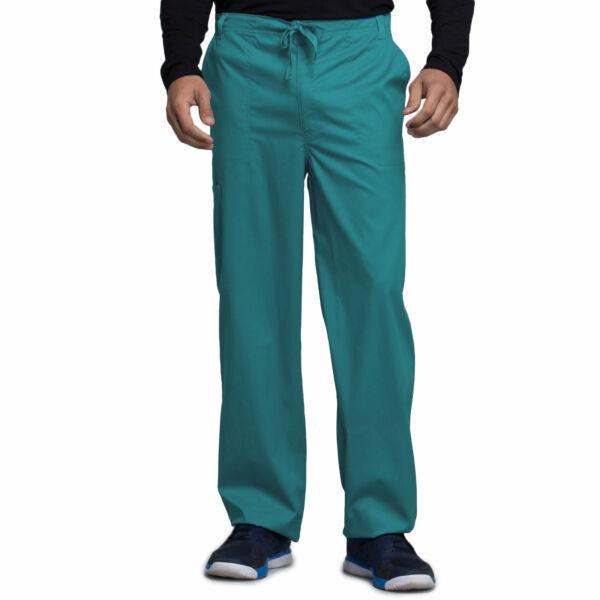 Muške hlače na vezanje širokih nogavica - 1022-TEAV