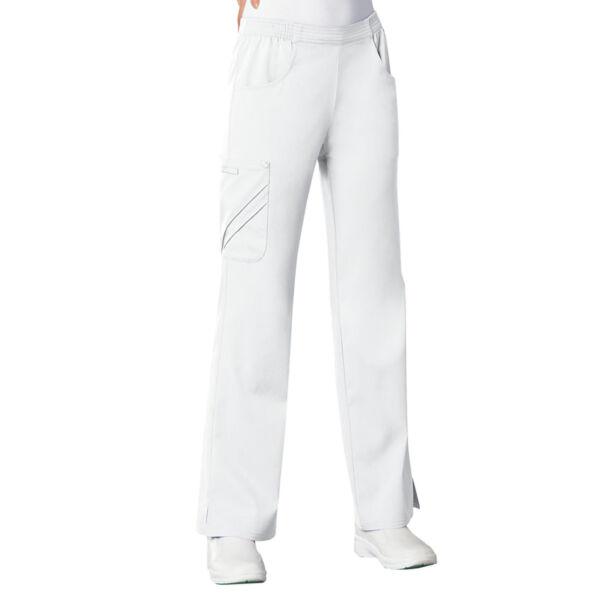 Vrećaste hlače srednje visokog struka - 1067-WHTV